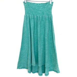 Anthro Sat/Sun Mint Green Terry Cloth Cover Up
